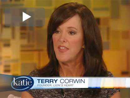 Terry Corwin on the Katie Couric Show
