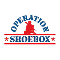 Operation Shoebox logo,care packages for the military